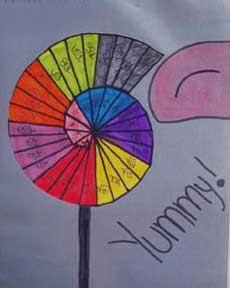 wheel of theodorus project ideas. kristina\u0027s lollypop wheel of theodorus project ideas a